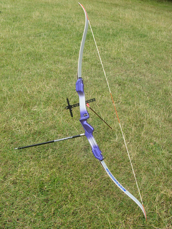 Samick Progress Recurve Bow Kit, from Merlin Archery Ltd